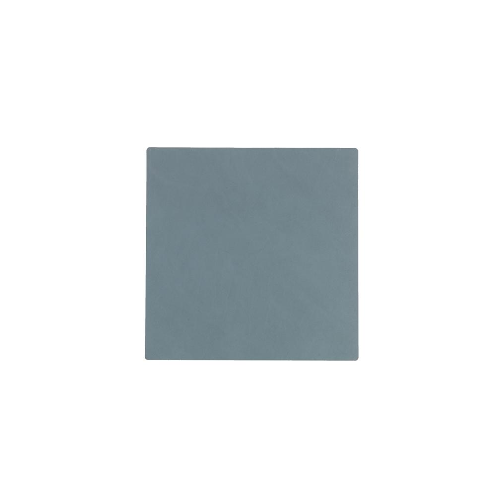 北歐櫥窗 LIND DNA|NUPO 皮革杯墊(方形、淺藍)
