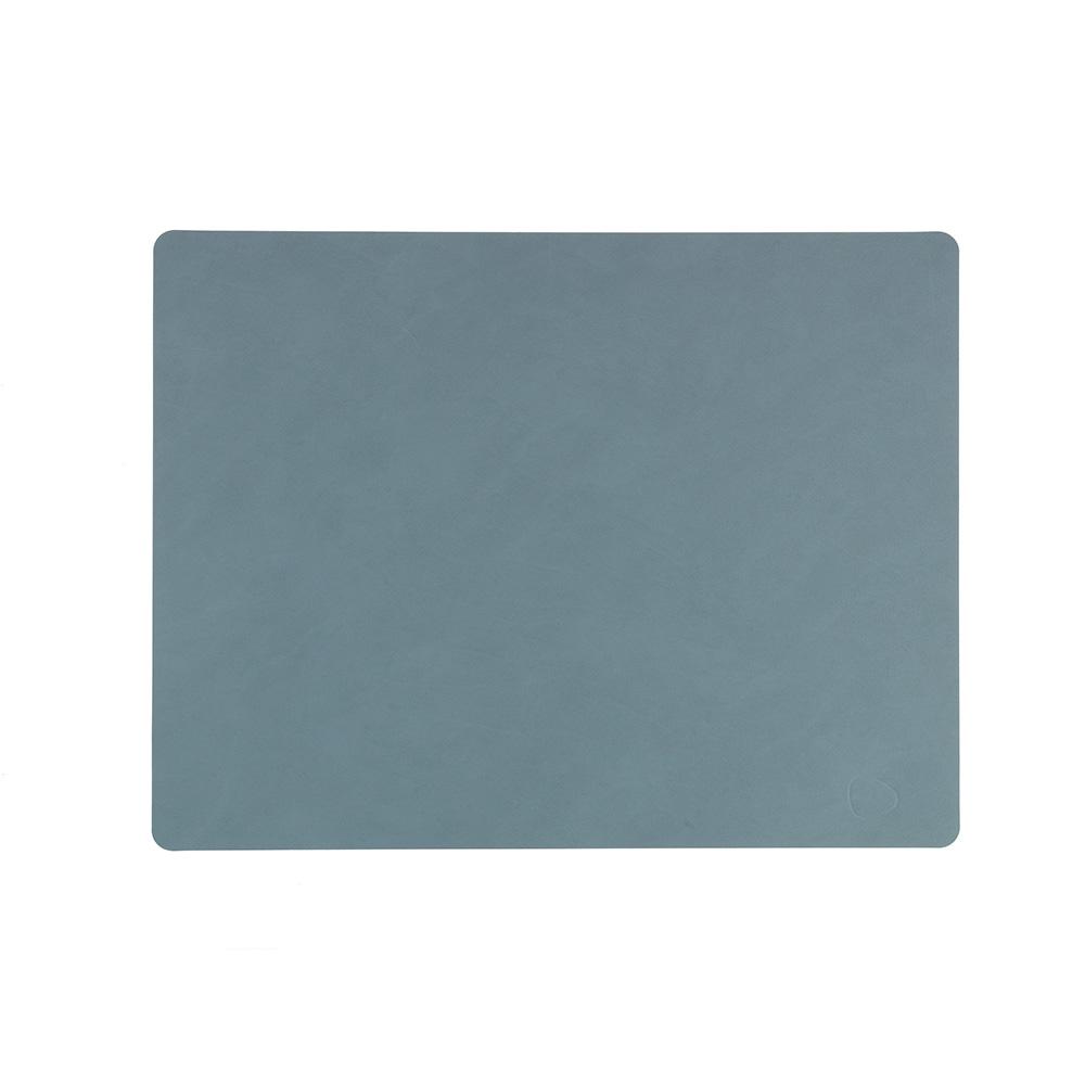 北歐櫥窗 LIND DNA|NUPO 皮革餐墊(方形、淺藍)