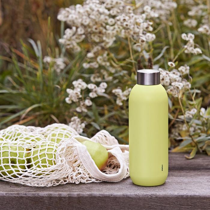 (複製)北歐櫥窗 Stelton|Keep Cool 保溫保冰隨行瓶(600 ML、薔薇粉)