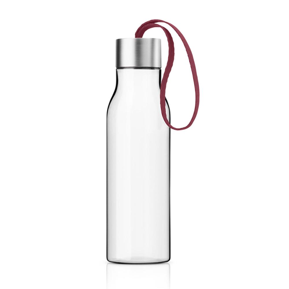 北歐櫥窗 Eva Solo Easy 隨手瓶(石榴紅、500 ML)