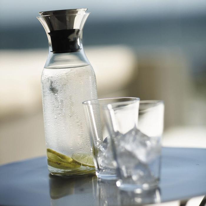 北歐櫥窗 Eva Solo|防側漏 彩漾水瓶(石榴紅、1 L)