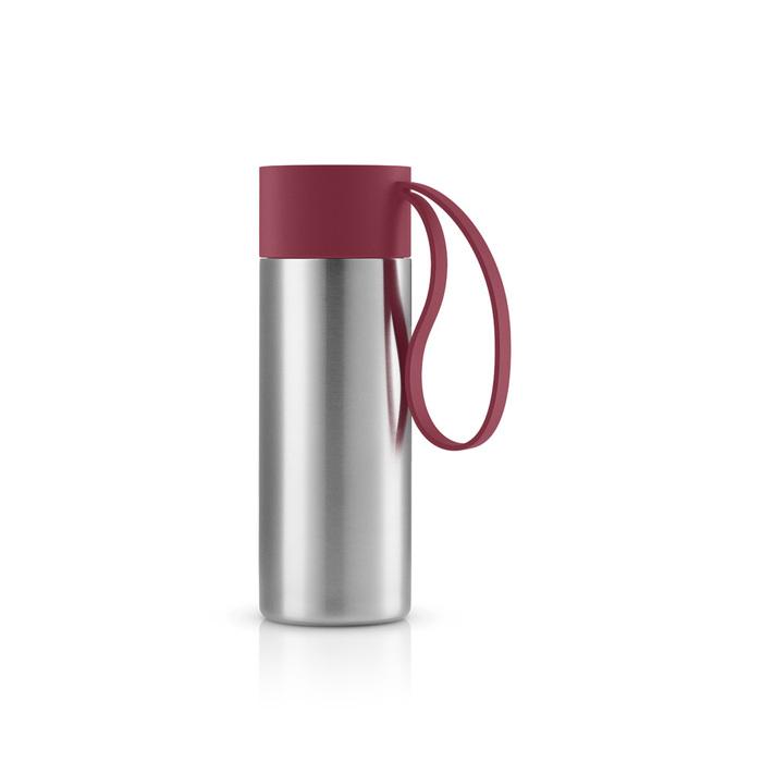北歐櫥窗 Eva Solo|極線真空保溫瓶(石榴紅、350 ML)