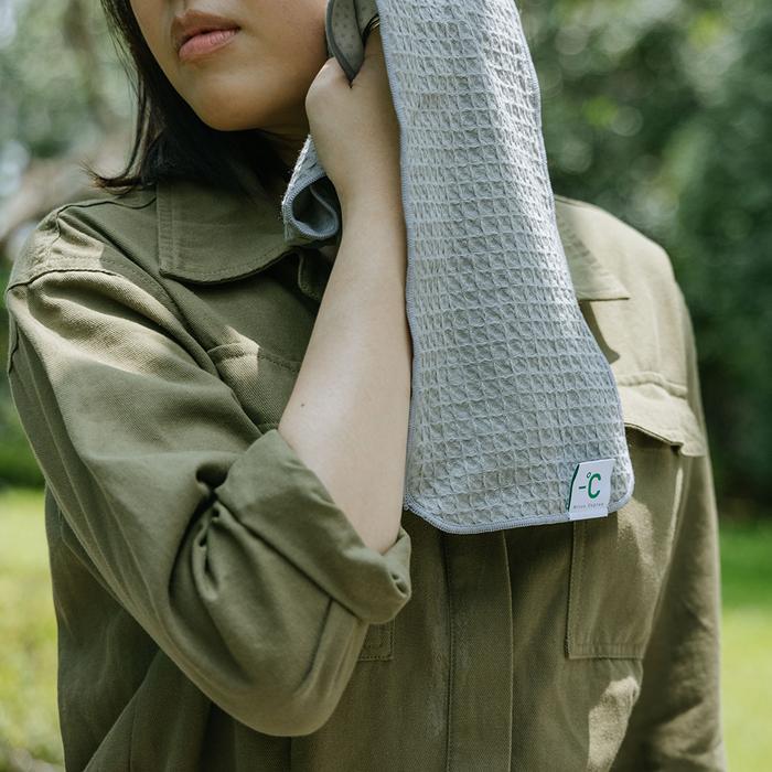 (複製)北歐櫥窗 100%|Minus Degree Bio 降溫涼感運動毛巾(蜂蜜鬆餅)