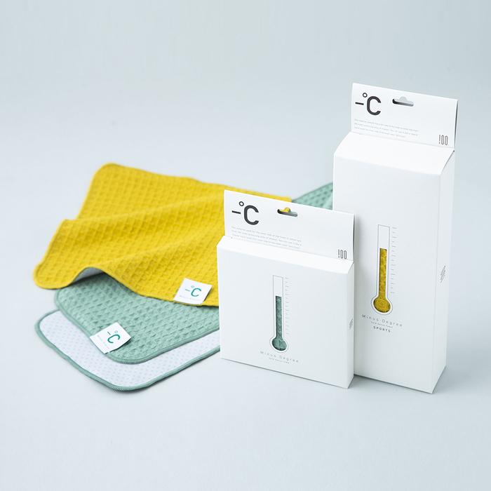 (複製)北歐櫥窗 100%|Minus Degree Bio 降溫涼感運動毛巾(芝麻鬆餅)