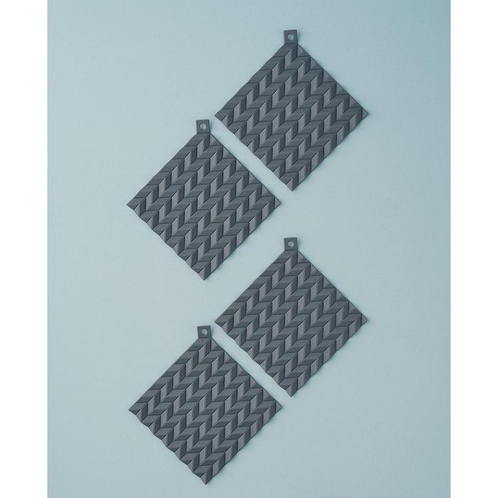 (複製)北歐櫥窗 RIG-TIG|Hold On 雙用隔熱墊(二入一組、松石綠)