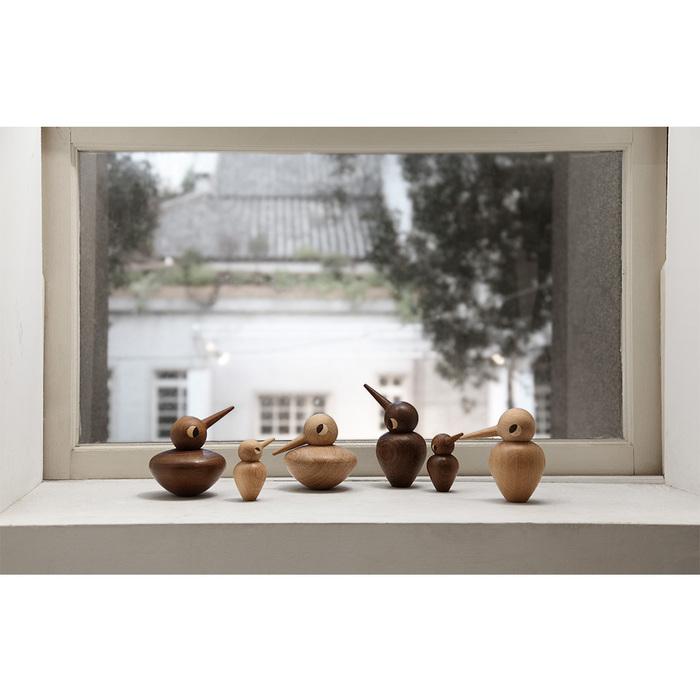 北歐櫥窗 Architectmade|手工木鳥家族(甜心鳥美眉)
