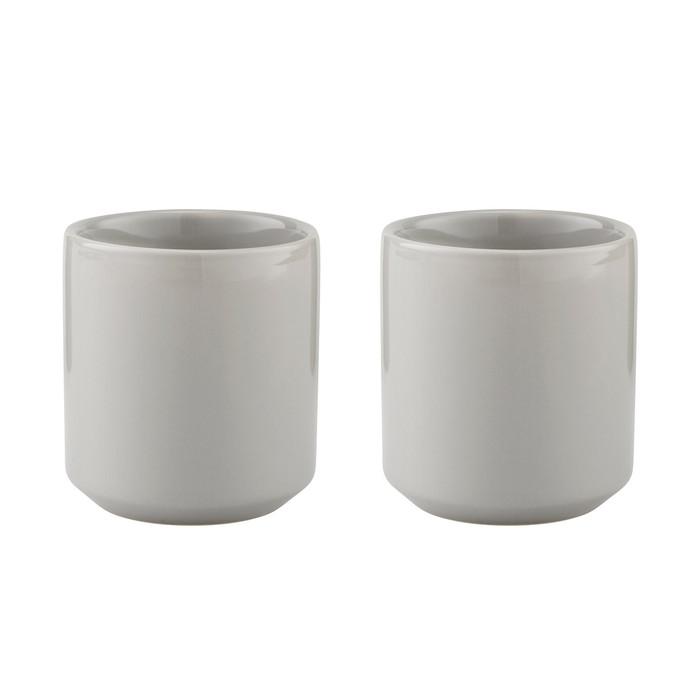北歐櫥窗 Stelton|Core 陶瓷杯二入組(花崗岩灰)