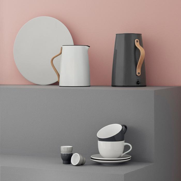(複製)北歐櫥窗 Stelton|Emma 的幸福茶器 淺碟組(2 入、灰)