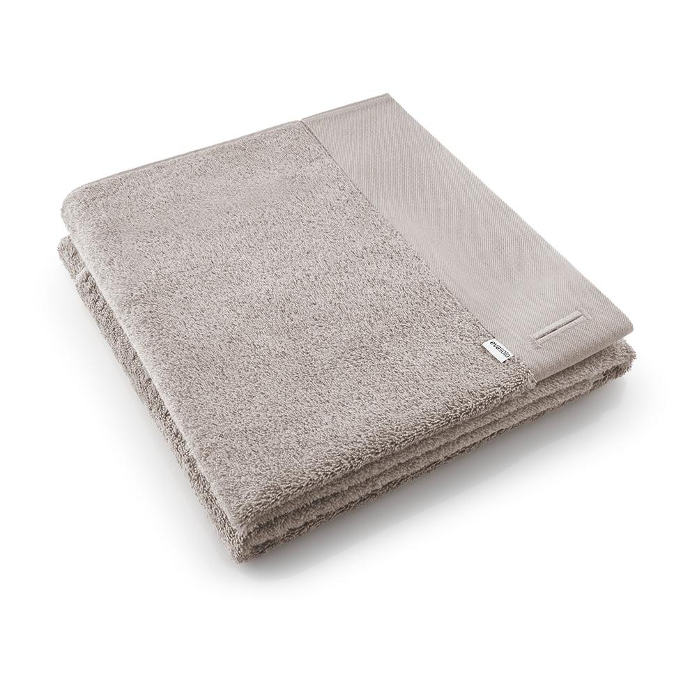 北歐櫥窗 Eva Solo  新版純棉浴巾(暖茶灰、70 x 140 cm)