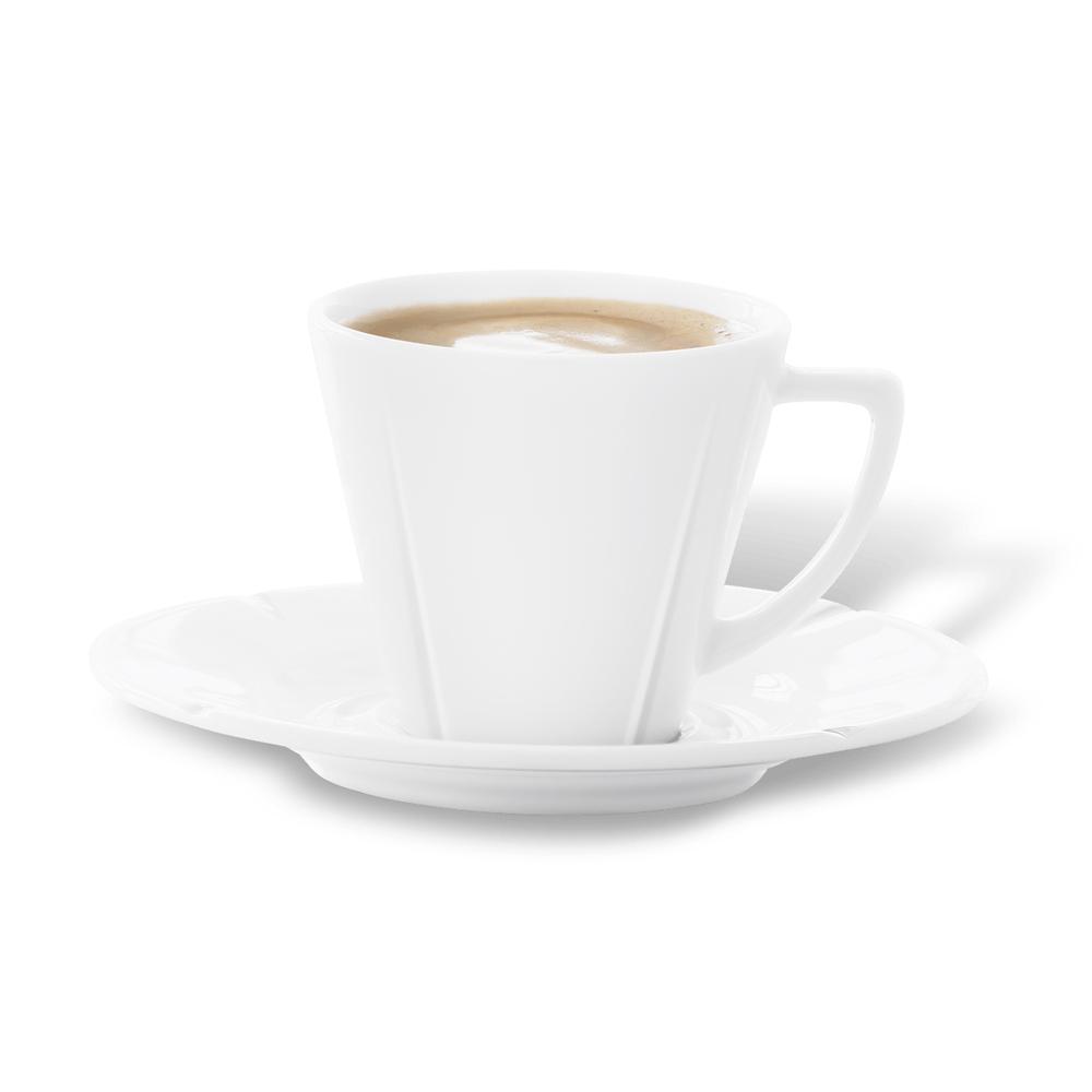 北歐櫥窗 Rosendahl|Grand Cru 白瓷咖啡杯盤組(Espresso、90 ml)