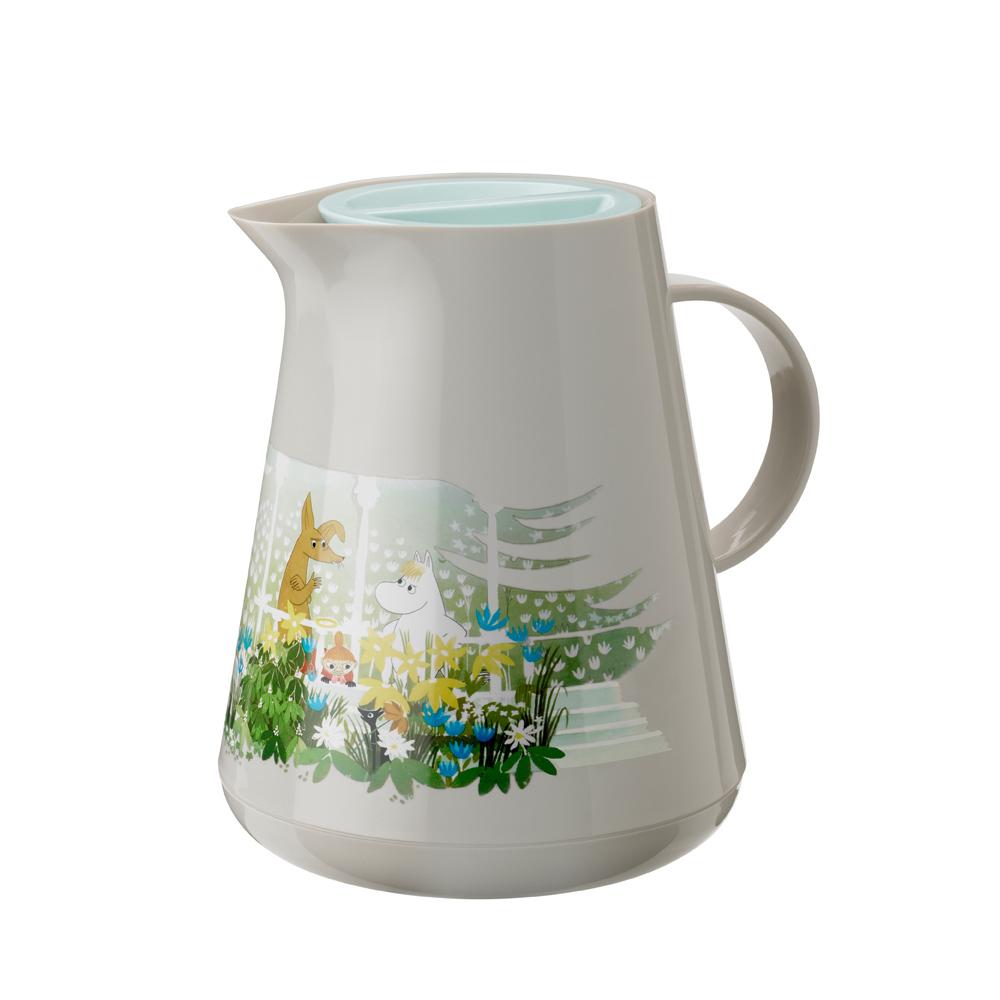 北歐櫥窗 RIG-TIG 嚕嚕米限量聯名   HOTTIE 保溫壺(1 L、淺沙褐)