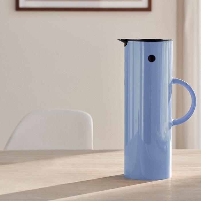 北歐櫥窗 Stelton 啄木鳥暖瓶(魯冰花紫、1 L)
