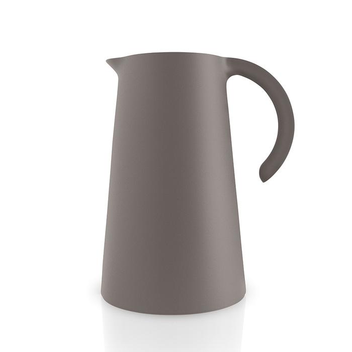 北歐櫥窗 Eva Solo Rise 知更鳥保溫壺(暖茶棕、1 L)