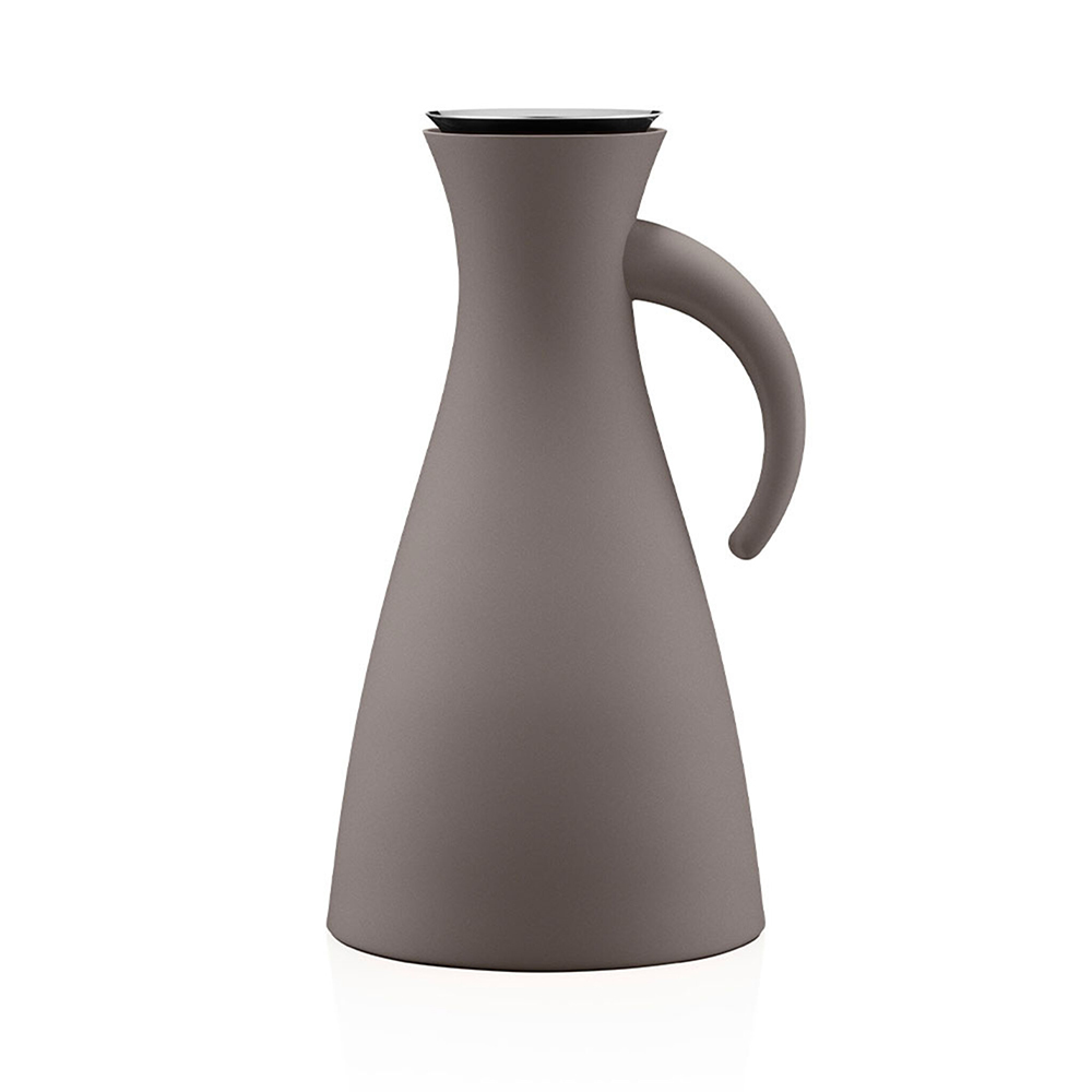 北歐櫥窗 Eva Solo 防側漏 天使保溫瓶(暖茶棕、1 L)