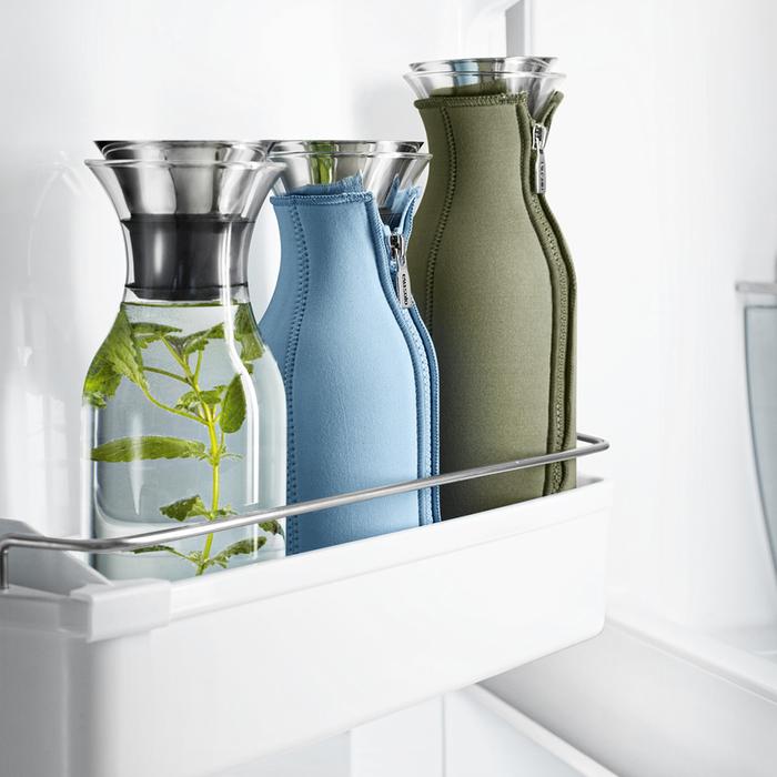 北歐櫥窗 Eva Solo 防側漏 彩漾水瓶(無太空衣、蜜瓜橙、1 L)