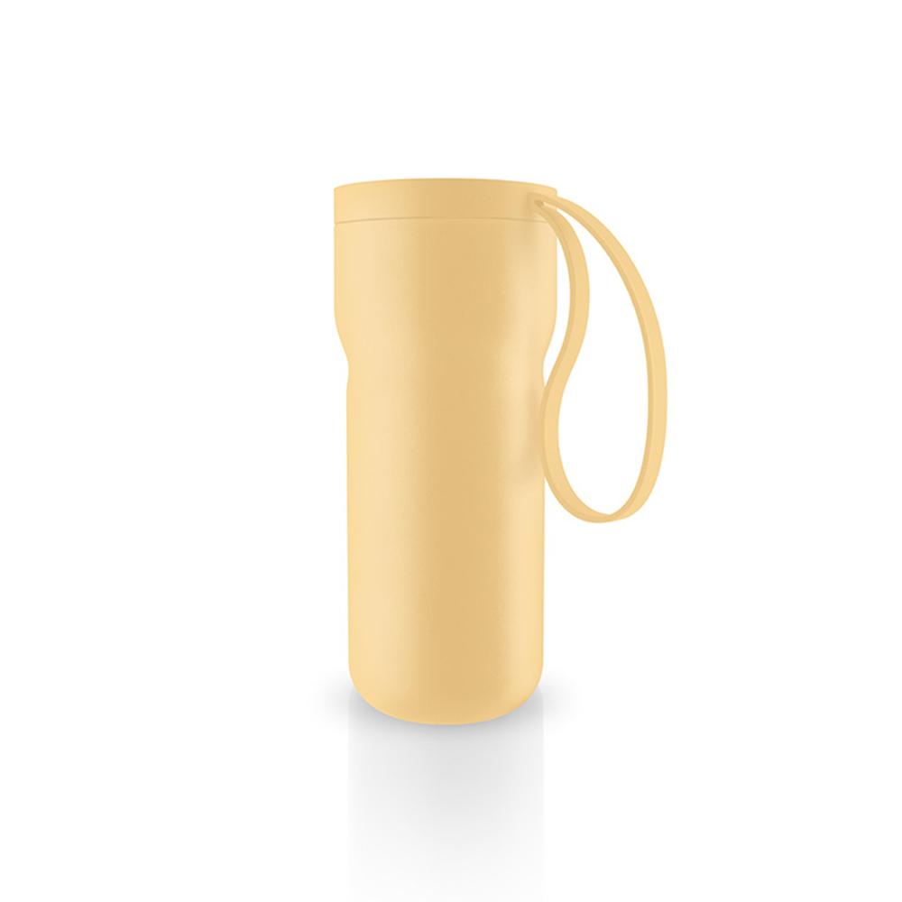 北歐櫥窗 Eva Solo|Thermo 隨型保溫咖啡杯(檸檬黃、350 ML)