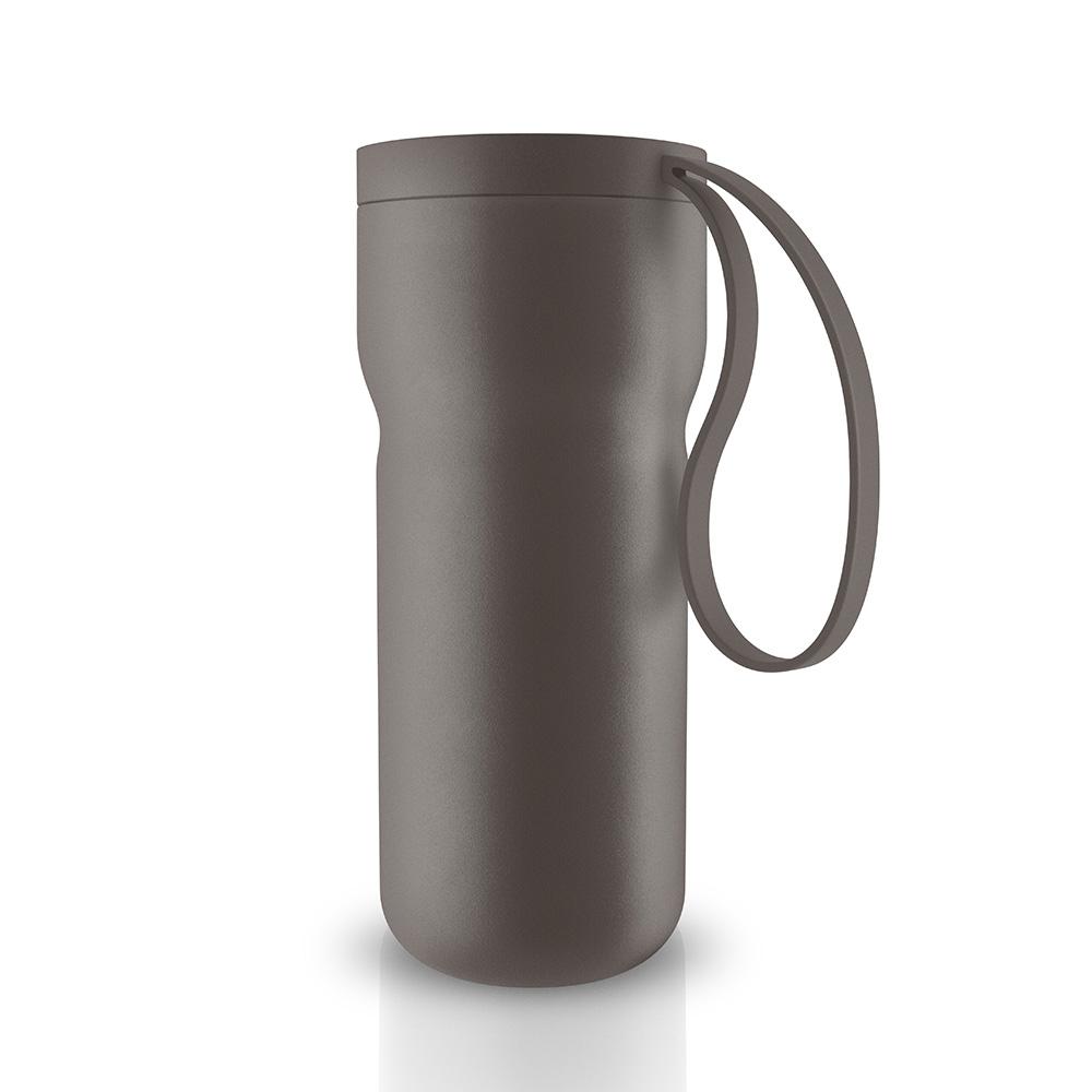 北歐櫥窗 Eva Solo Thermo 隨型保溫咖啡杯(暖茶棕、350 ML)