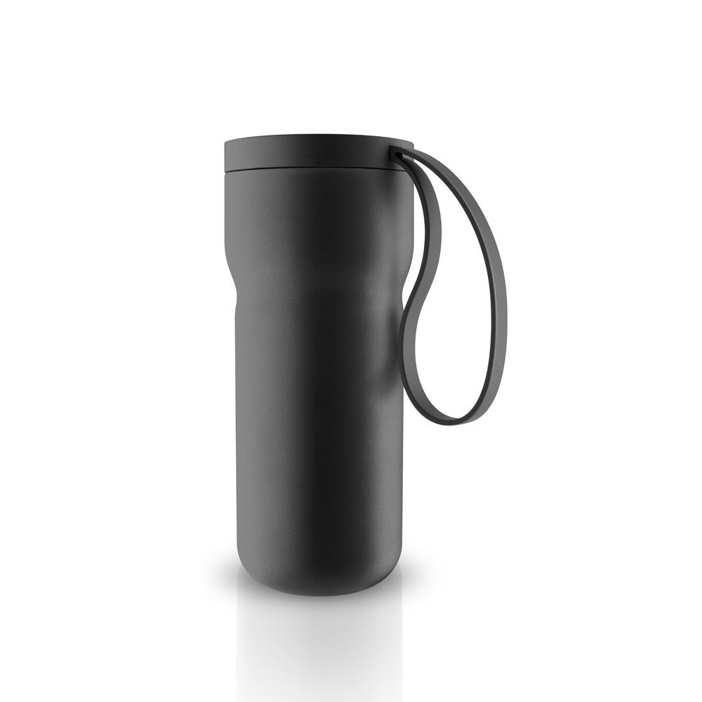 北歐櫥窗 Eva Solo|Thermo 隨型保溫茶杯(山石黑、350 ML)