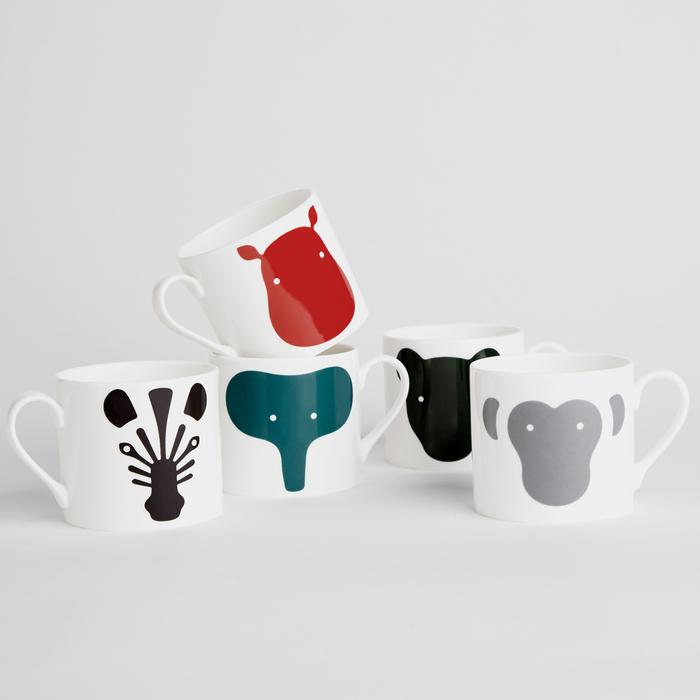 北歐櫥窗 EO Denmark Animal Mug 動物馬克杯(河馬)