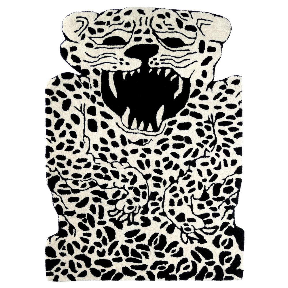 北歐櫥窗 EO Denmark|Leopard Carpet 花豹地毯