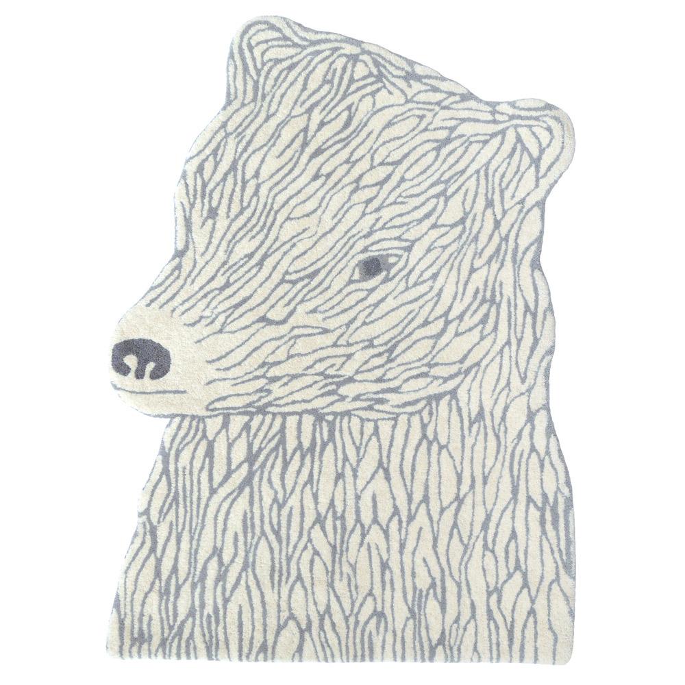 北歐櫥窗 EO Denmark Bear Carpet 白熊地毯