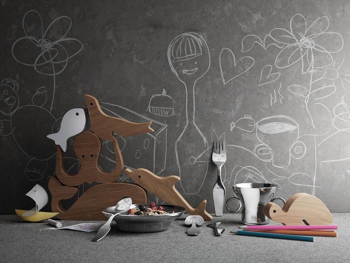 (複製)北歐櫥窗 Georg Jensen|Alfredo 海洋家族積木組
