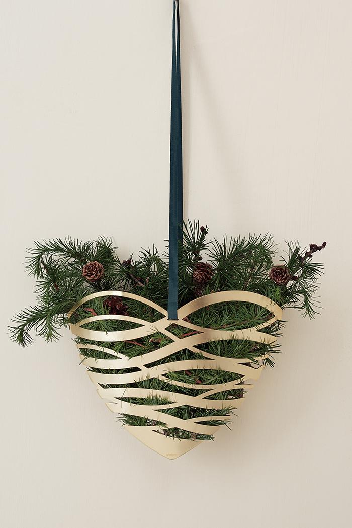 (複製)北歐櫥窗 Stelton|Tangle 聖誕吊飾(金錐、小)