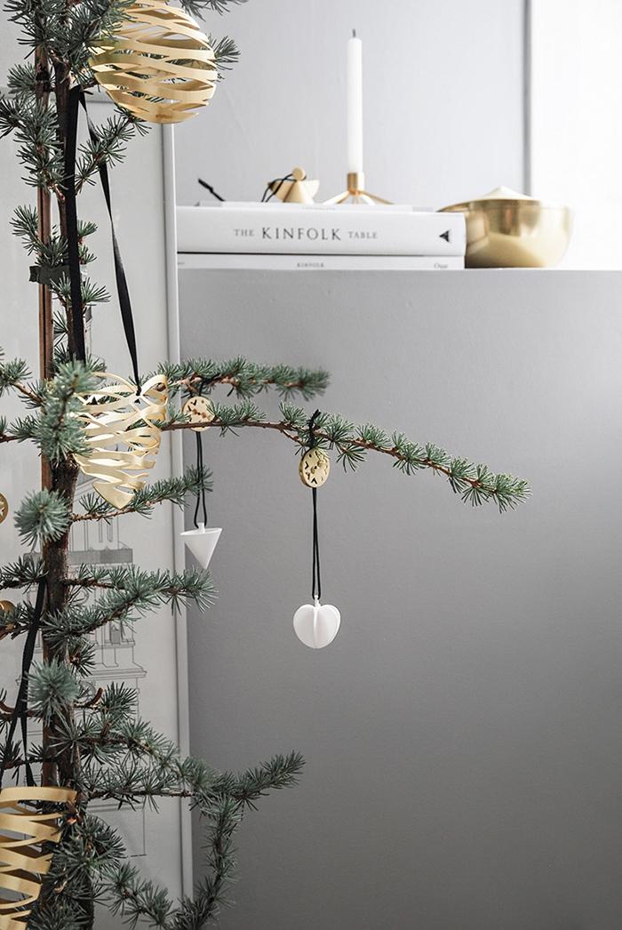 (複製)北歐櫥窗 Stelton|Tangle 聖誕吊飾(金心、大)