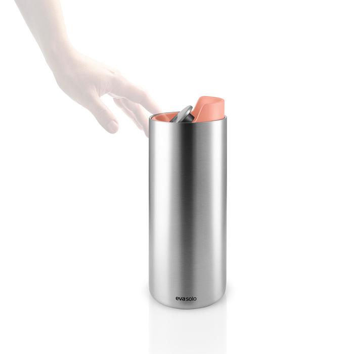 北歐櫥窗 Eva Solo|輕旅隨型保溫瓶(蜜瓜橙、350 ML)