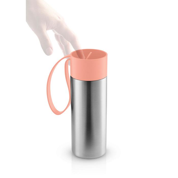 北歐櫥窗 Eva Solo|極線真空保溫瓶(蜜瓜橙、350 ML)