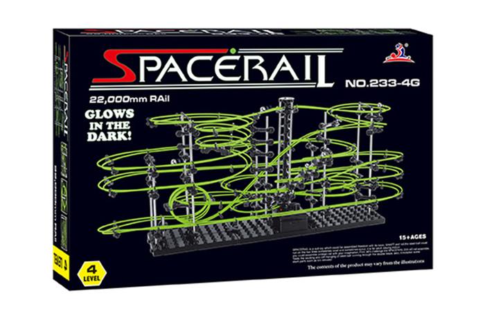 賽先生科學工廠|Spacerail曲速引擎/瘋狂雲霄飛車----夜光限定款 等級4