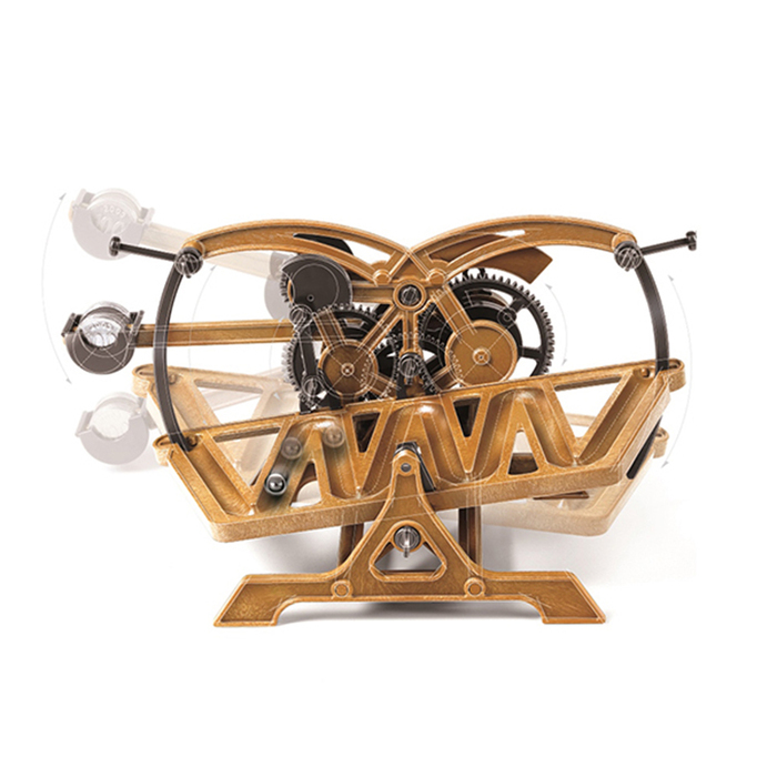 賽先生科學工廠|收藏達文西 - 滾珠計時器