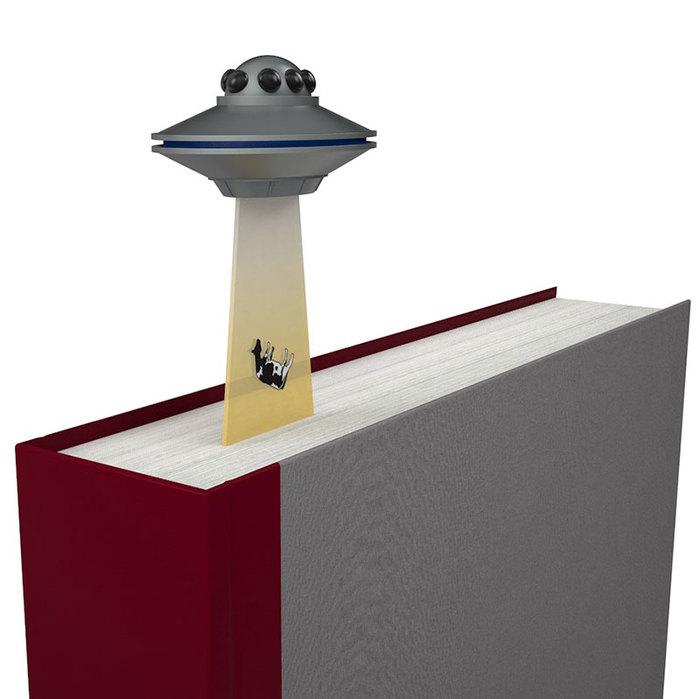 賽先生科學工廠 立體幽浮造型書籤 (三色)