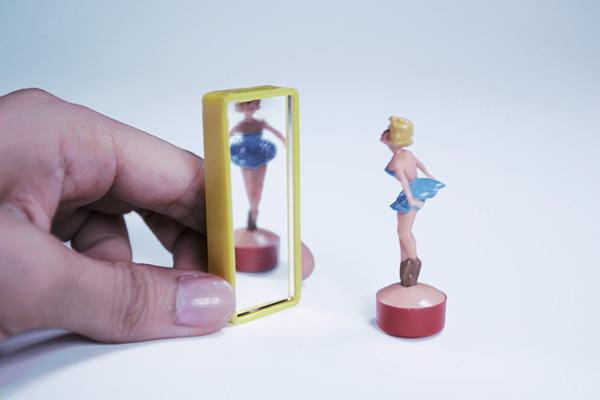 賽先生科學工廠 德國趣味磁力擺飾-鏡中芭蕾舞者