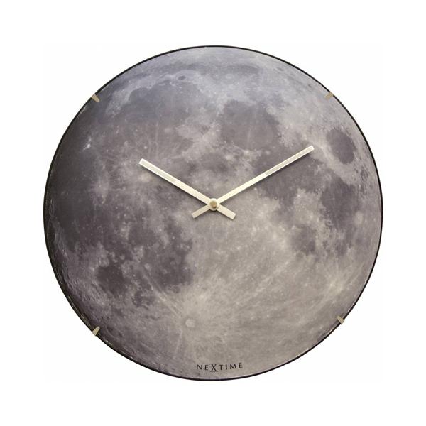 賽先生科學工廠|夜光月球時鐘(暗夜藍)