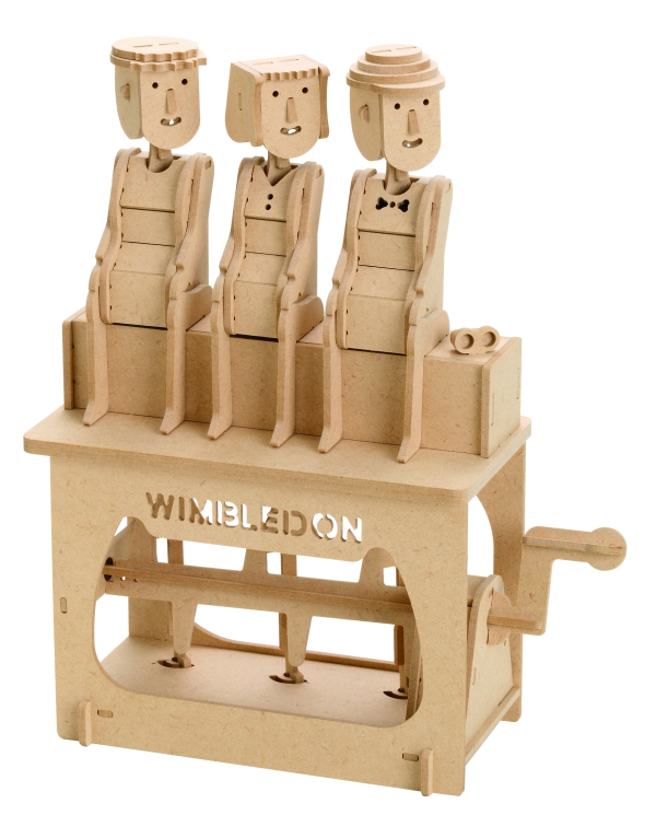 賽先生科學工廠 異想模界-木作模型 溫布頓