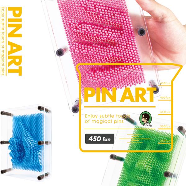 賽先生科學工廠|透明新款 | Pin Art大搞創意複製針(共五色)