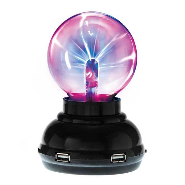 賽先生科學工廠|Plasma 電漿球(靜電球)附USB HUB