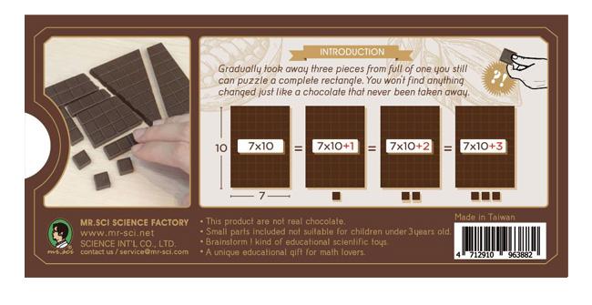賽先生科學工廠|吃不完的巧克力拼圖