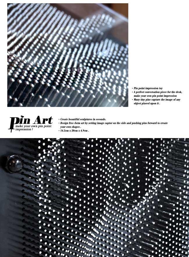 (複製)賽先生科學工廠|Pin Art大搞創意複製針 / 金屬銀