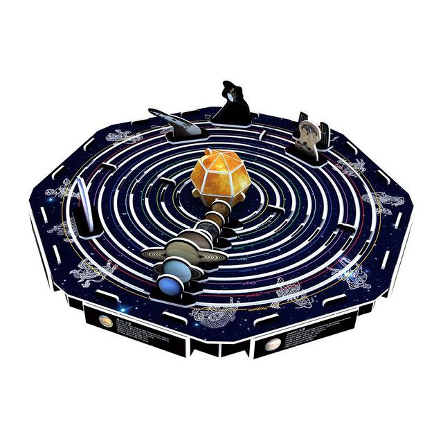 賽先生科學工廠|3D立體拼圖:太空宇航系列(三款)
