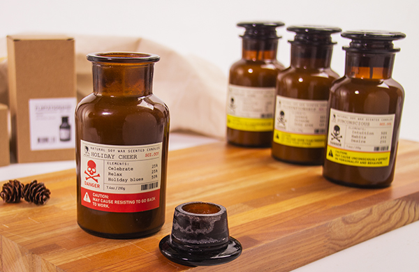 賽先生科學工廠|危險實驗室香氛蠟燭 (五款)