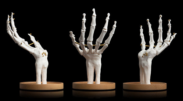 賽先生科學工廠|英國 SUCK UK 骷髏手骨首飾收納盤
