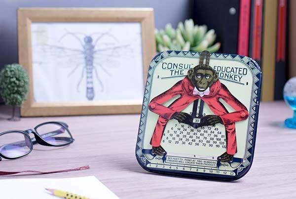 賽先生科學工廠|鐵皮玩具-乘法猴(古董復刻版)