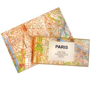 賽先生科學工廠|撕不破耐皺防水地圖 - 巴黎