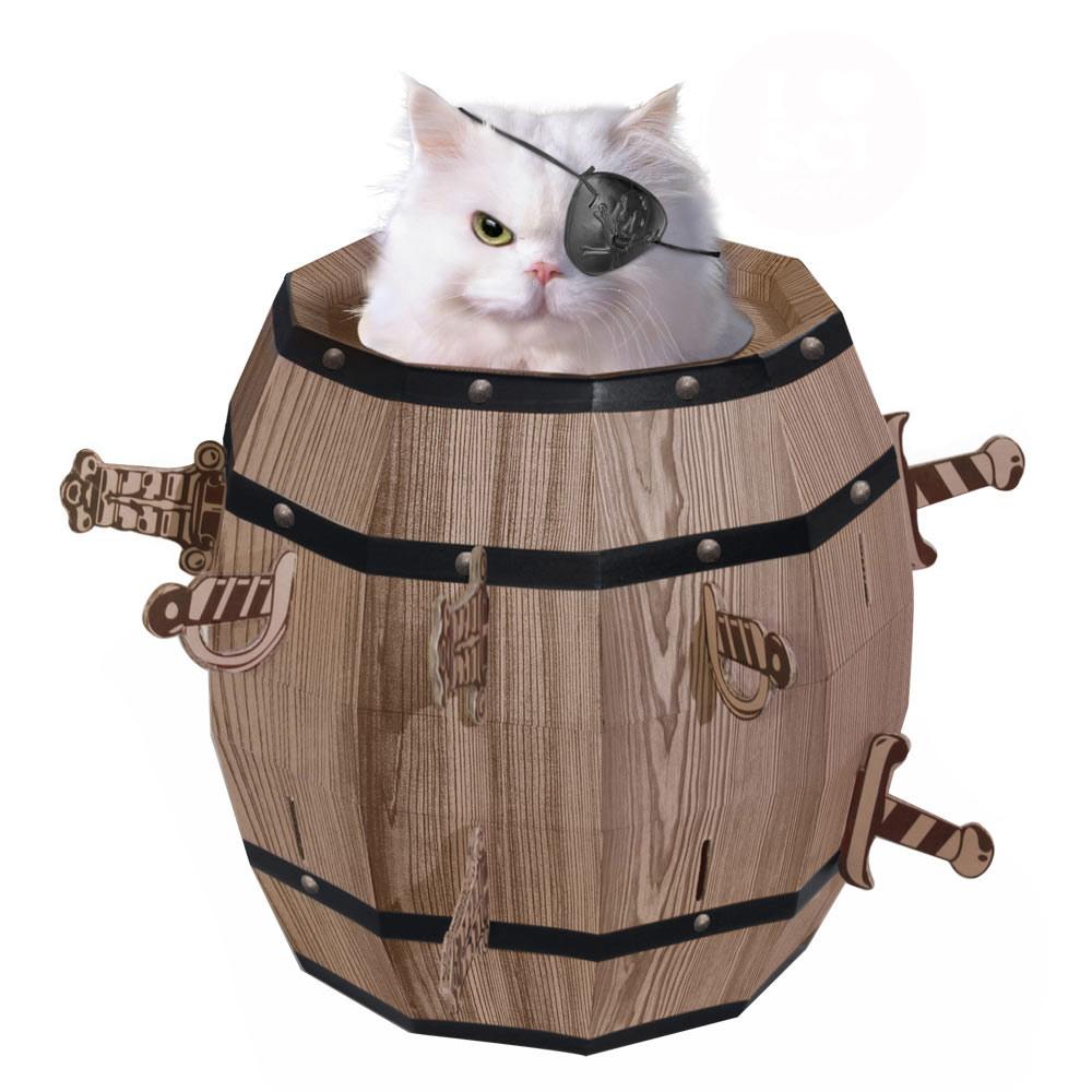 賽先生科學工廠 Cat barrel 瘋狂貓咪桶