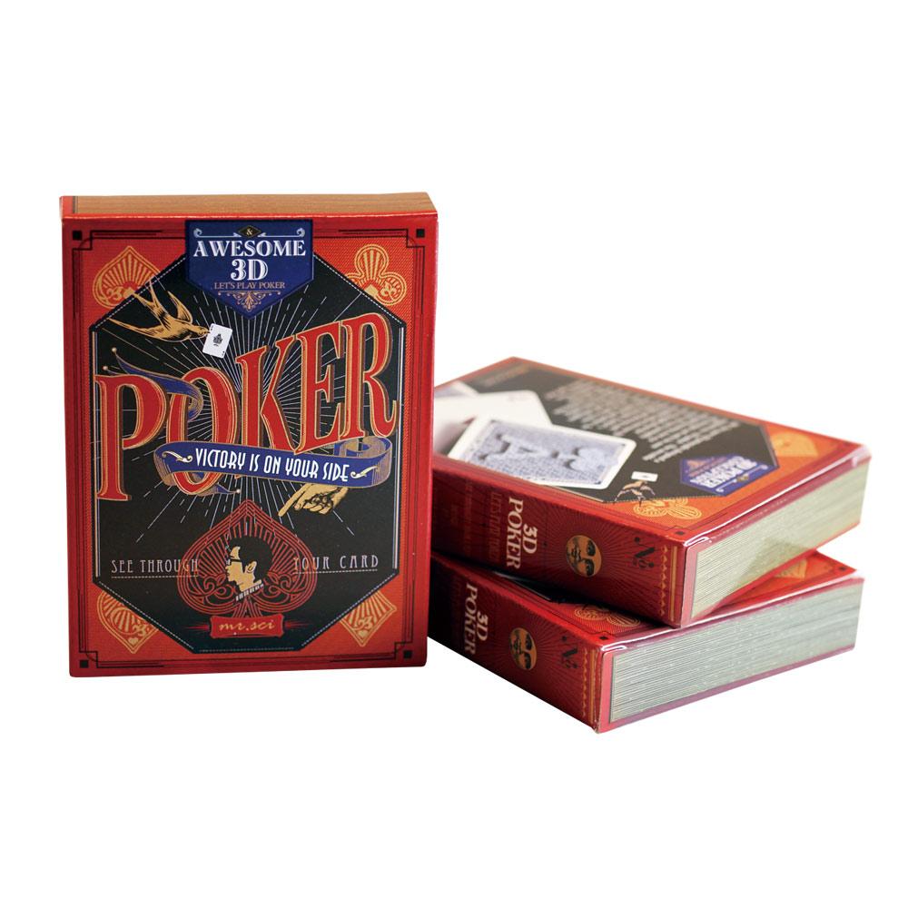 賽先生科學工廠|透視3D撲克牌