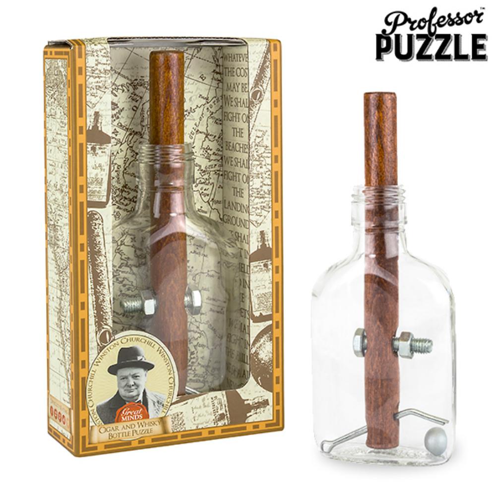 賽先生科學工廠 邱吉爾的雪茄-解謎威士忌瓶