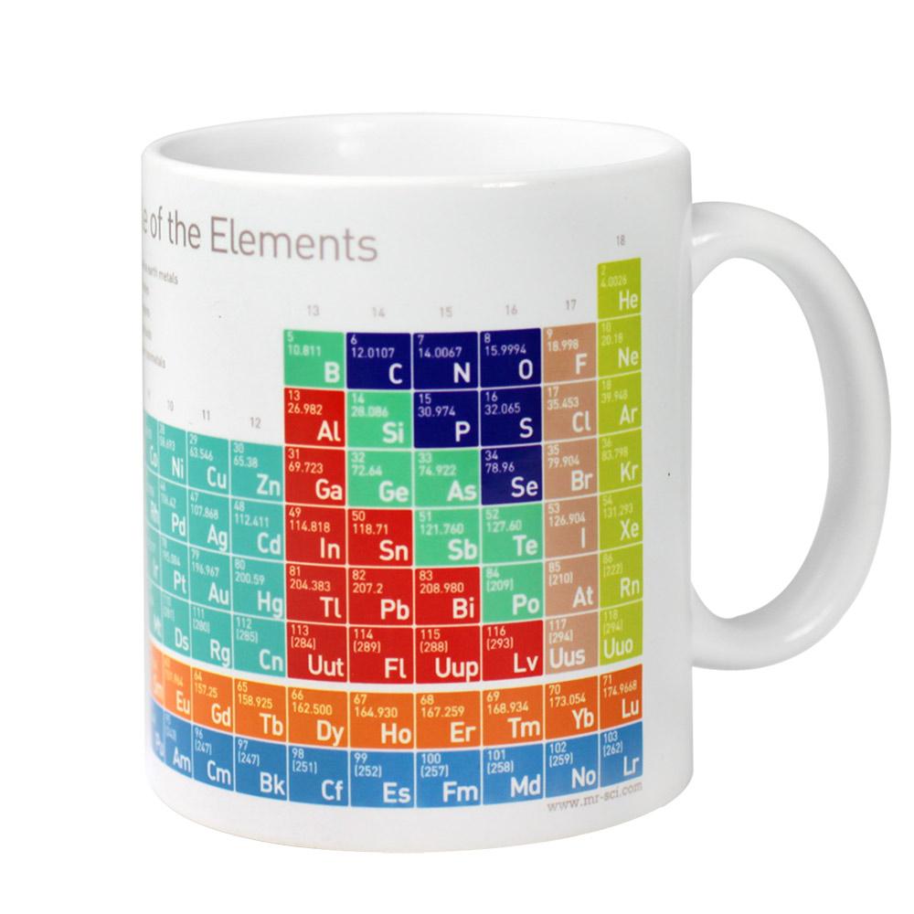 賽先生科學工廠 科學馬克杯系列-優雅化學元素表