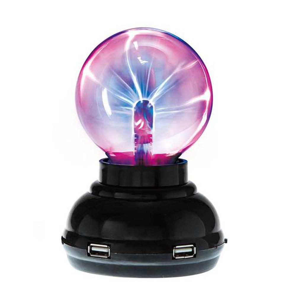 賽先生科學工廠 Plasma 電漿球(靜電球)附USB HUB